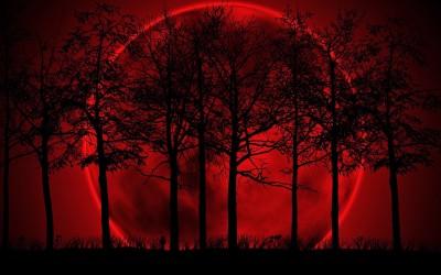 10 October Blood Moon